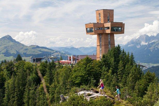 Das Gipfelkreuz in Sankt Jakob - ©BB Pillersee