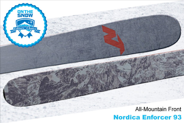 Nordica Enforcer 93, men's 16/17 All-Mountain Front Editors' Choice ski. - ©Nordica