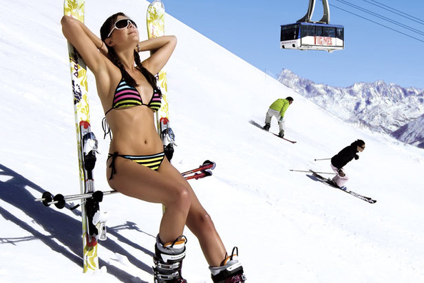 Ski d'été en France - ©OT de Tignes
