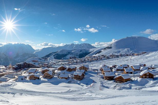 Important plan d'investissements (350 M€) à l'Alpe d'Huez - ©Laurent SALINO / Alpe d ' Huez Tourisme