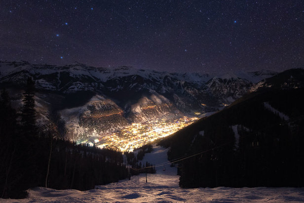 Telluride at night - ©Vcize