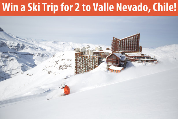 Win a Ski Trip for 2 to Valle Nevado Chile!  - ©Valle Nevado