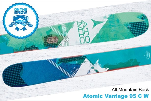 Atomic Vantage 95 C W, women's 16/17 All-Mountain Back Editors' Choice ski. - ©Atomic