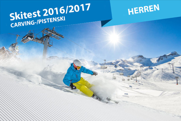 Carving-Ski Test Herren 2016/2017 - ©Lukas Gojda