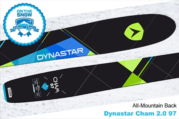 Dynastar	Cham 2.0 97, men's 16/17 All-Mountain Back Editors' Choice ski. - ©Dynastar
