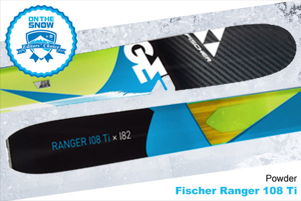 Fischer Ranger 108 Ti, men's 16/17 Powder Editors' Choice ski. - ©Fischer