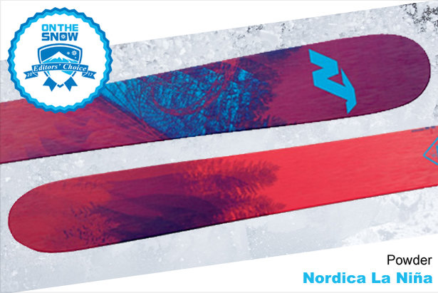 Nordica La Nina, women's 16/17 Powder Editors' Choice ski. - ©Nordica