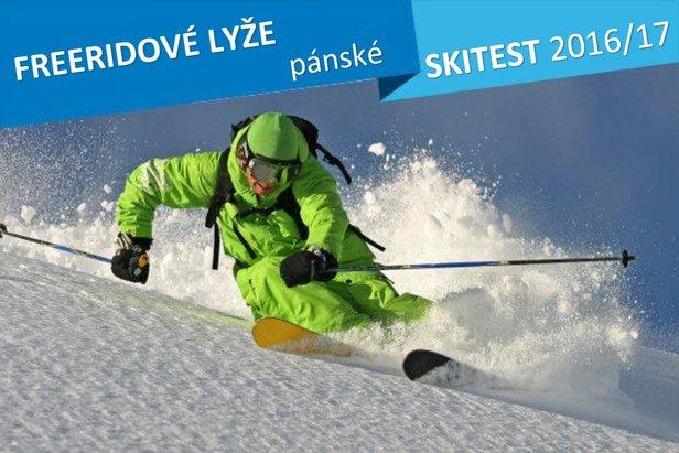 Freeride Skitest 2016/17: 11 párů pánských freeridových lyží v našem testu - ©stefcervos
