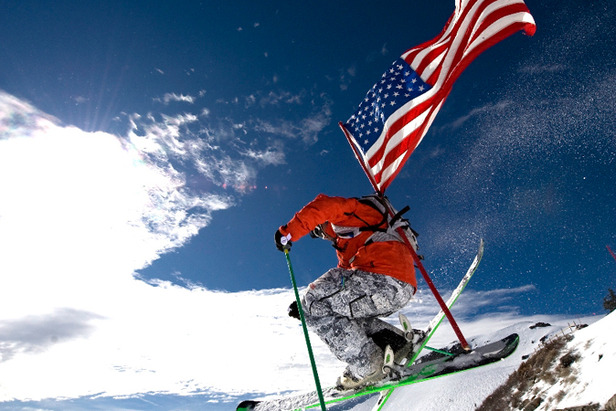 Squaw July Flag - IMPORTANT CREDIT Hank de Vre