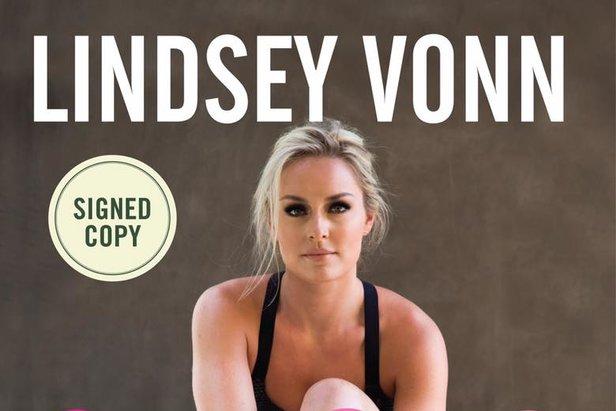 Lindsey Vonn presenta il suo nuovo libro