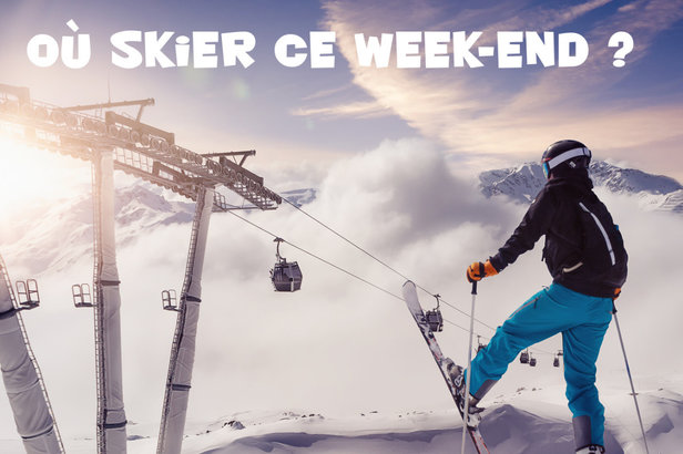 Où skier ce week-end ? - ©dbunn - Fotolia.com