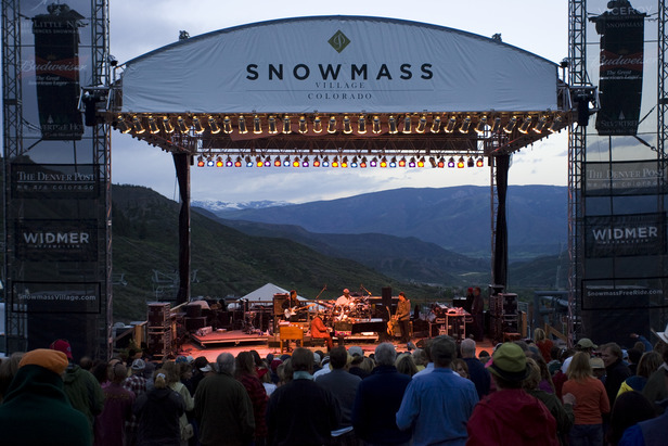Snowmass CO summer concert 1