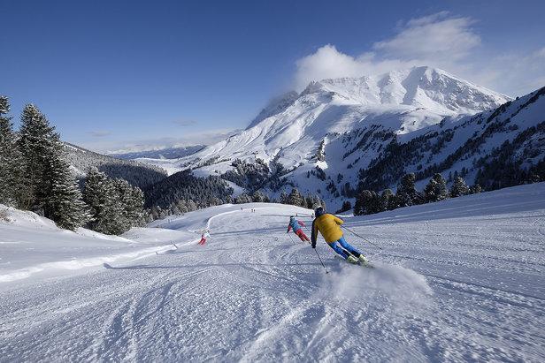 Sněhové zpravodajství: Lyžuje se v mnoha střediscích, podmínky jsou dobré - ©Orlerimages per Visitfiemme.it