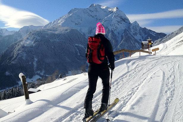 Skitourengehen in Mayrhofen - ©Stefanie Eder