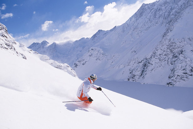 Plenty of powder skiing in Portillo, Chile - ©Andes Ski Tours