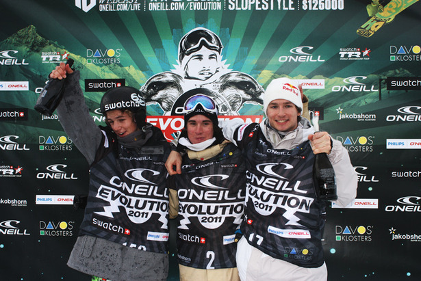 Evolution'11 podium-HP