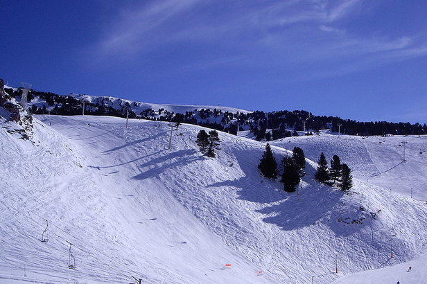 Chamrousse FRA slopes