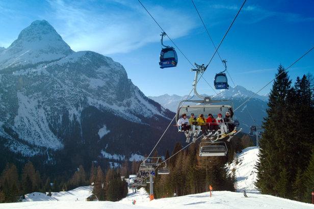 Ehrwald AUT lift