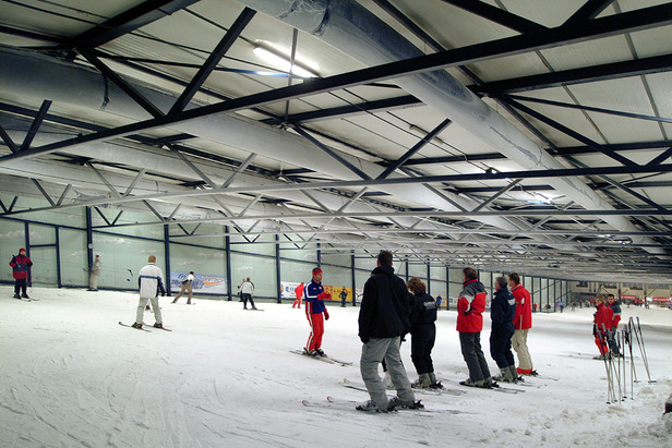 Main slopes at Montana Snowcenter, Netherlands