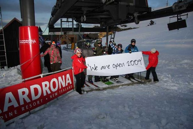 Cardrona opens 2009