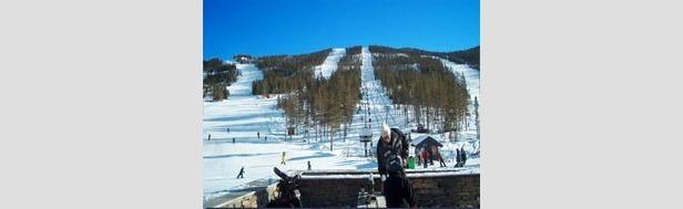 Nesbyen - utsikt fra skistua