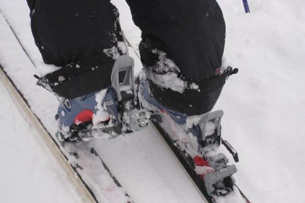 Des skis légers adaptés autant à la montée qu'à la descente