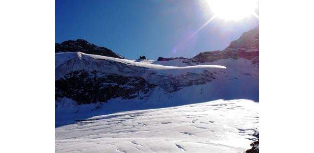 Gletscher Saas Fee - ©fst