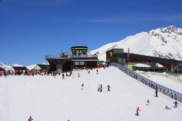 Ski area of Panticosa, Spain
