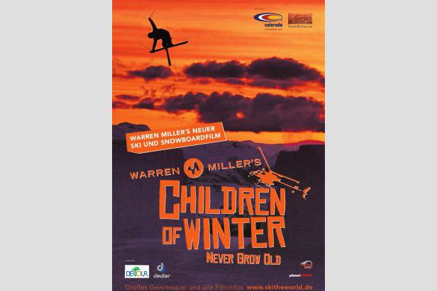 Cover - Children of Winter  - ©Warren Miller