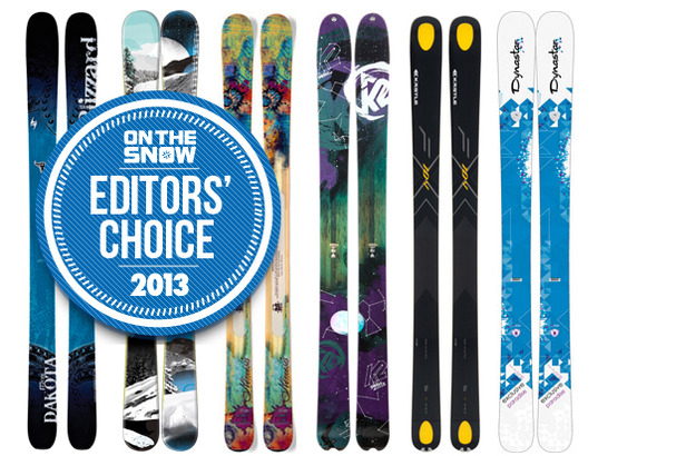 2013 OTS Editors' Choice Women's Powder Skis