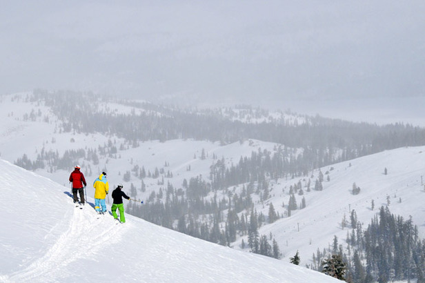 Skiing with a guide at Kirkwood Resort. Photo Courtesy of Kirkwood Resort.