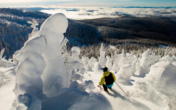 pow at Big White - ©Big White Ski Resort