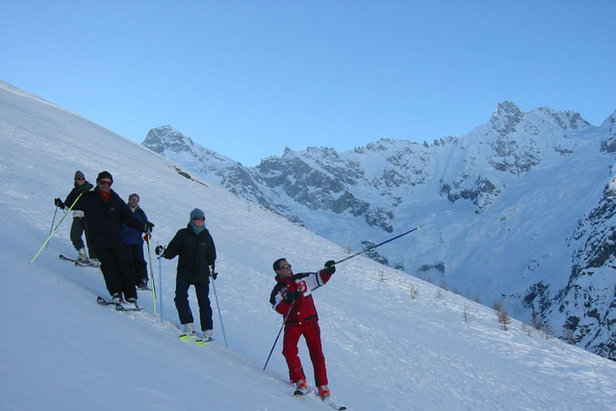 La Robella skiers group