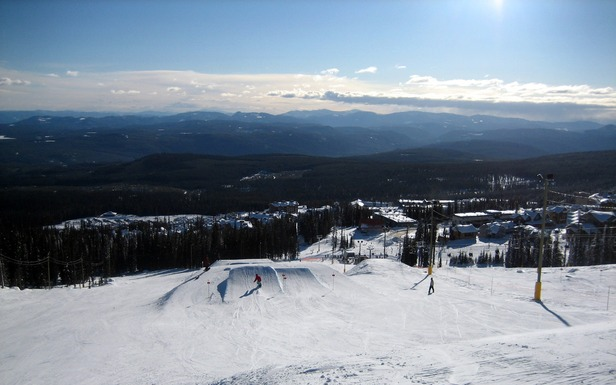 The Terrain Park at Big White Resort in BC