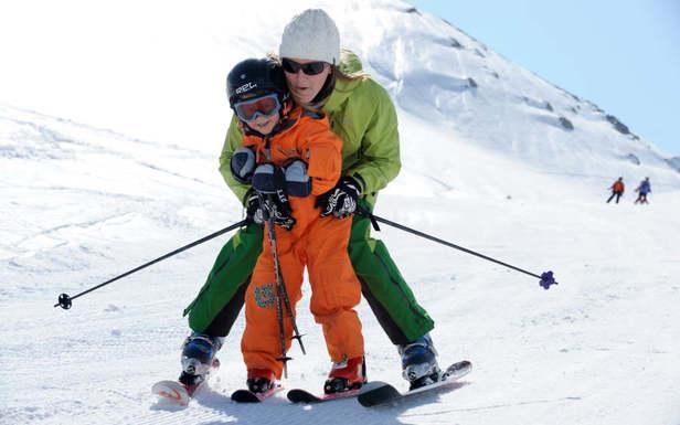 ski karellis en famille