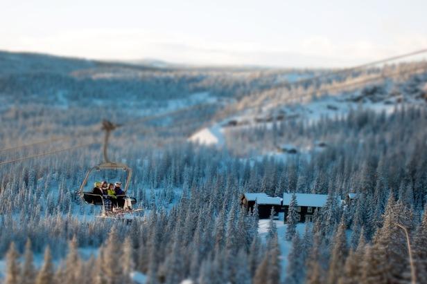 Kvitfjell Vest, november 2012 - ©Anders Aasheim