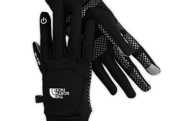 The North Face Etip Glove Liner - The North Face Etip Glove Liner allows you to use touchscreens without having to expose your hands to the cold. It can be used as a liner for under your ski gloves or alone as a light glove for driving. $45. - Steve Kopit
