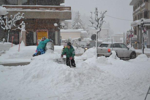 Crans Montana, Switzerland. Dec. 17, 2012