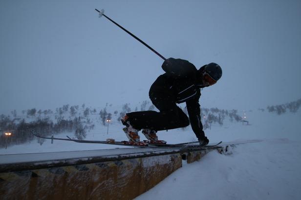 John Olav Folkestad Førland rapporterer fra Haukelifjell - ©Morten Saltvedt
