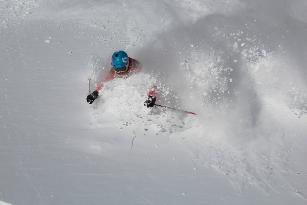 Jackson Hole powder this winter. Photo courtesy of Jackson Hole Mountain Resort.