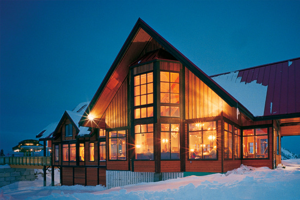 Located at the top of the Gondola, spend Valentine's day in a private suite in the Eagle's Eye.