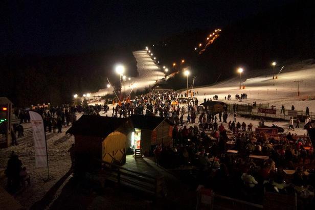 Ski en nocturne sur le domaine de Gerardmer