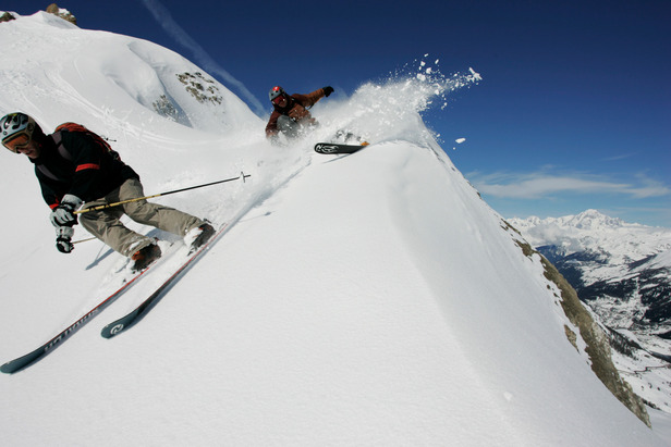 A Tignes, l'hiver est loin d'être fini et les conditions de ski sont encore très bonnes - ©© Jérémy Pontin / OT de Tignes