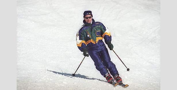 Russian President Vladimir Putin has been known to take to the slopes with the Shukolovo Ski Club.