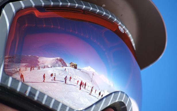 Dernier coup d'oeil sur les pistes de ski encore ouvertes