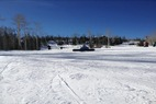 by anonymous user - great boarding weather. a