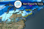 Snow Before You Go: New Snow in the New Year - ©Meteorologist Chris Tomer