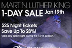 MLK 1-Day Sale! - MLK 1-Day Sale Jan.