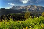 Das beeindruckende Dachstein-Massiv