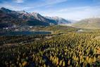 St. Moritz im Herbst